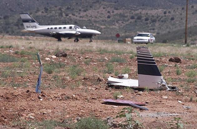 Patrick Swayze's Plane Wreckage Site