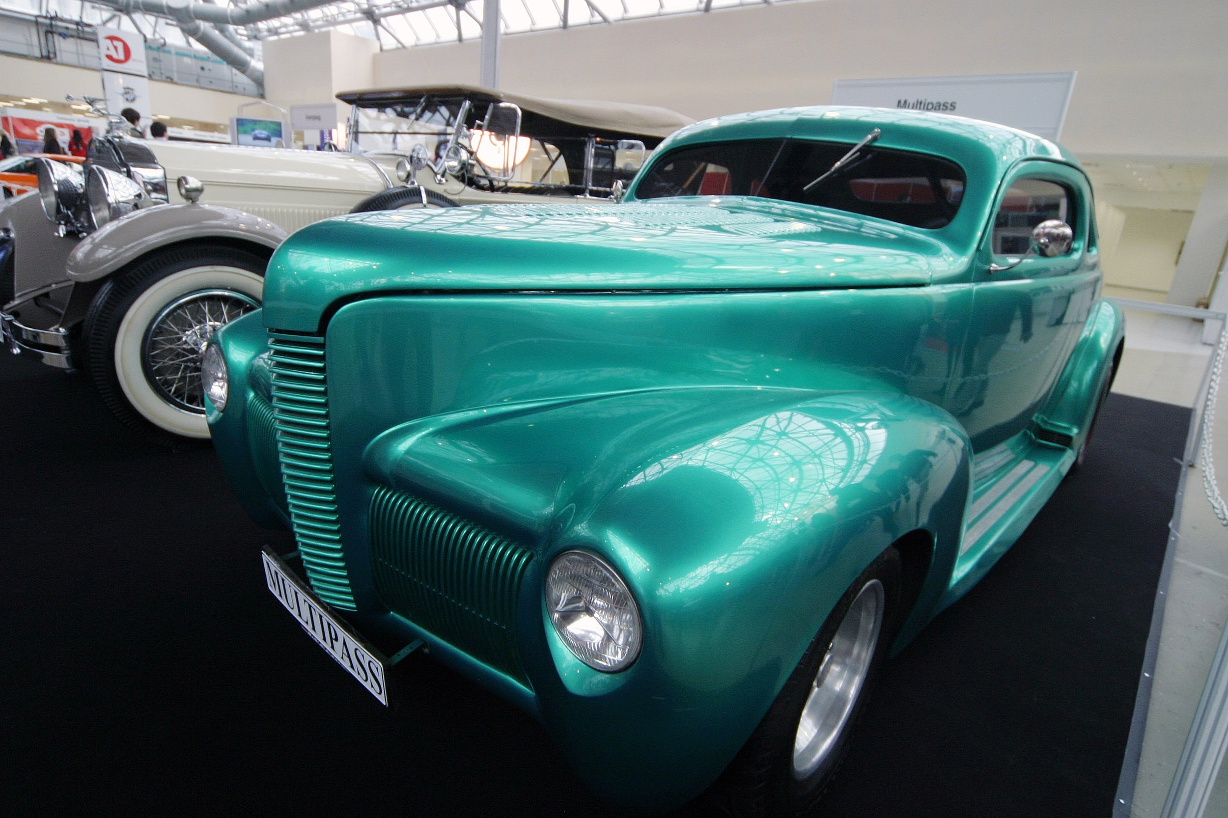 Vintage Automobiles Exhibited In Moscow