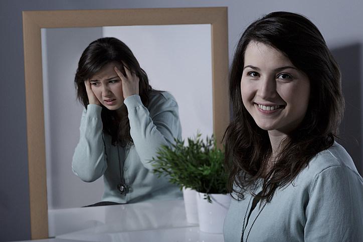 Girl and bipolar disorder