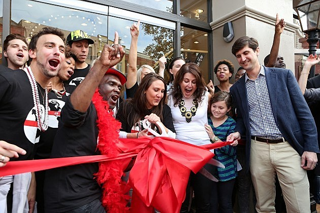 Opening Day of H&M New Orleans Flagship Store