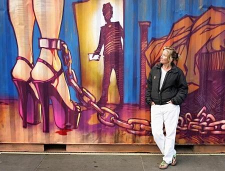 Sex Trafficking Art Installation, Trafalgar Square